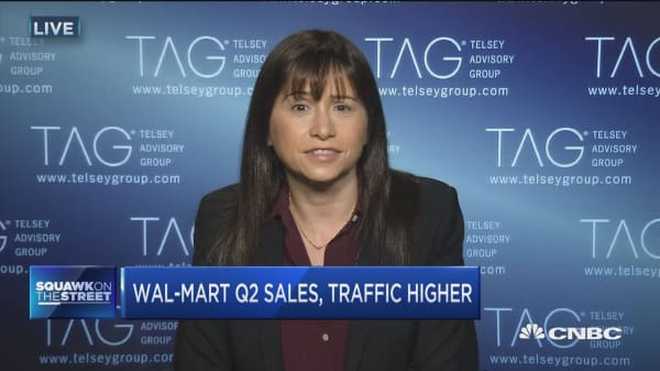 Telsey: Wal-Mart's momentum continuing