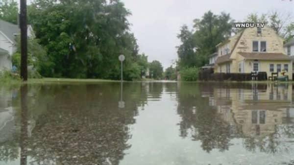 Baton Rouge floods break records