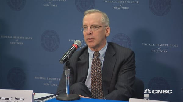 NY Fed's Bill Dudley on economy, 2nd half