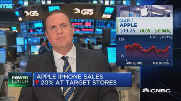 Apple's retail threat