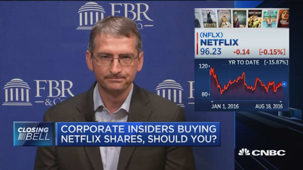 Corporate insiders buying Netflix shares, should you?