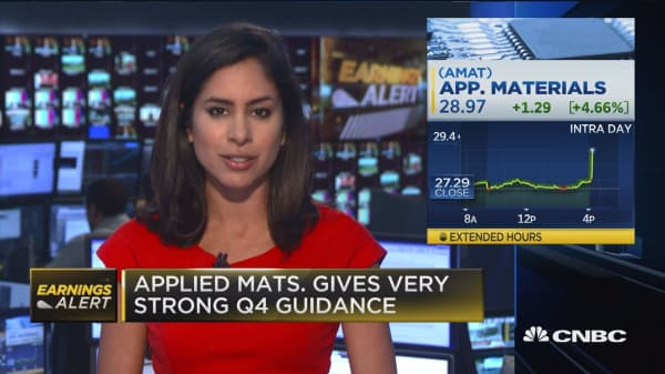 Applied Materials EPS beat
