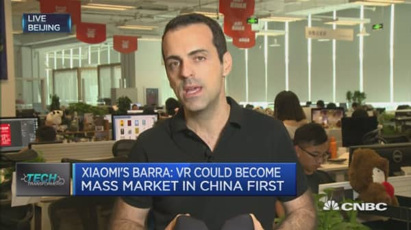 VR market will grow in China faster than anywhere else: Xioami VP