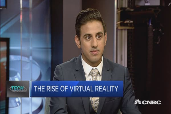 It's early days for VR: CNBC's Arjun