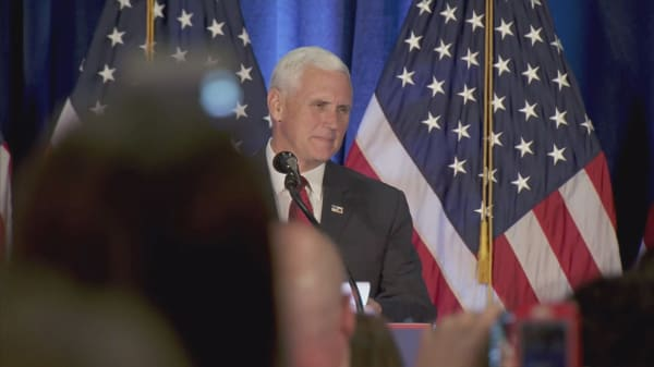 Mike Pence discloses modest income