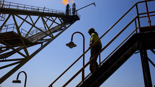 Oil Rig, oil worker