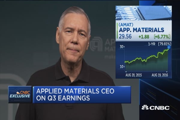 Applied Materials CEO: We're the materials innovation leader