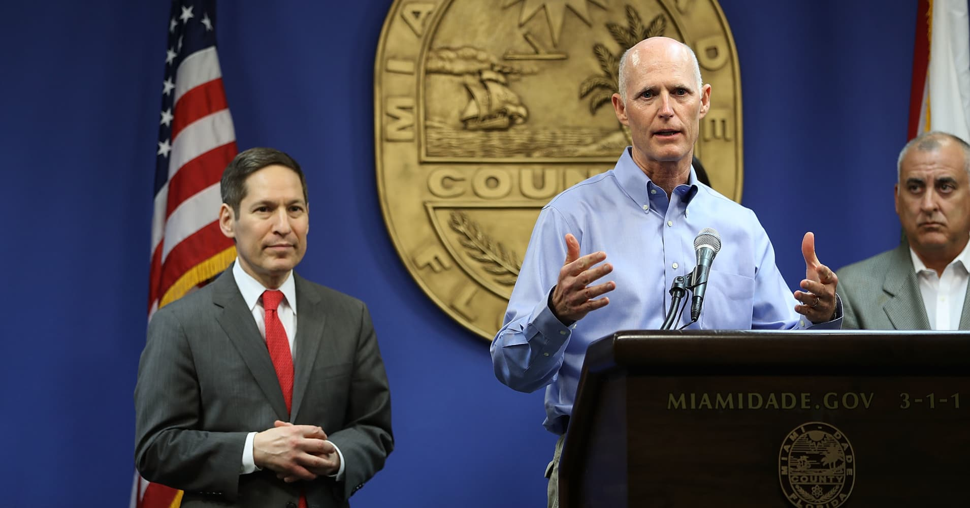 Florida governor confirms Zika transmission in Miami Beach