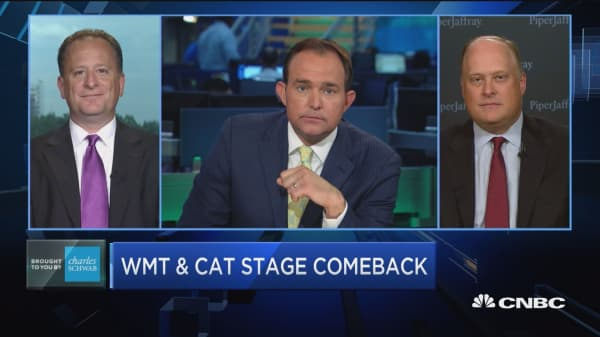 WMT & CAT stage comeback