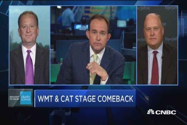 WMT & CAT stage comeback