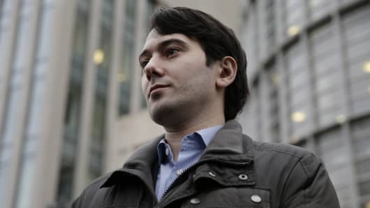 Martin Shkreli, former chief executive officer of Turing Pharmaceuticals LLC.