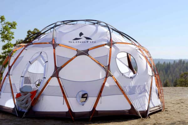 SlingFin's Kahiltna Dome tent retails for $5,750.