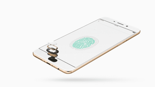 Oppo's R9 flagship smartphone with fingerprint scanning technology