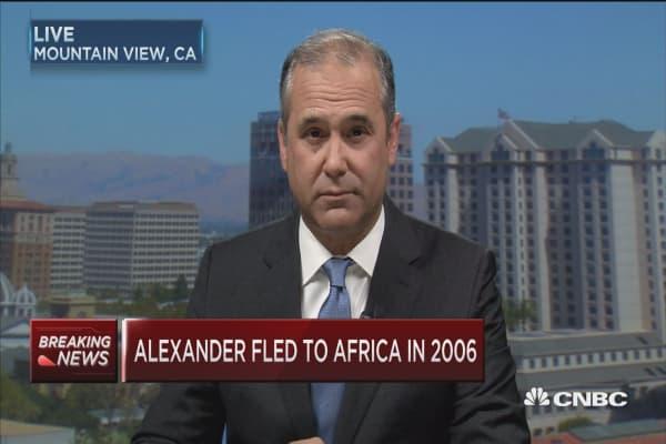 Kobi Alexander to return to US