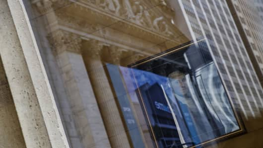 Wall Street, George Washington reflection, big banks