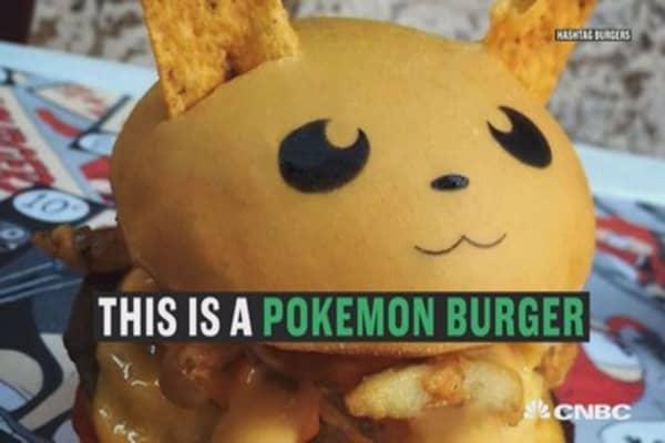 Australian burger joint debuts Pokemon burgers