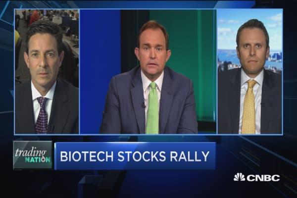 Biotech stocks rally