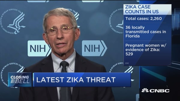 Zika threat from Louisiana flooding?