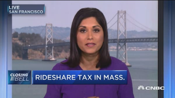 Rideshare tax in Massachusetts