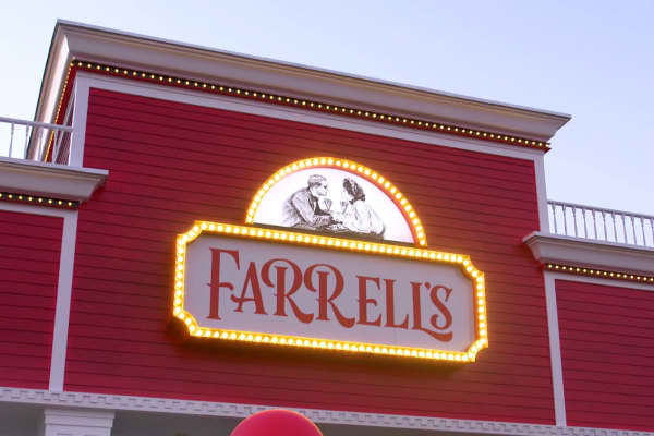 Farrell's Ice Cream Parlour, which Marcus Lemonis recently invested in, is off to a new start.