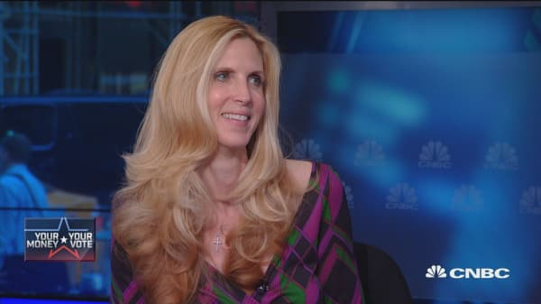 Clinton presidency would stack the deck: Ann Coulter