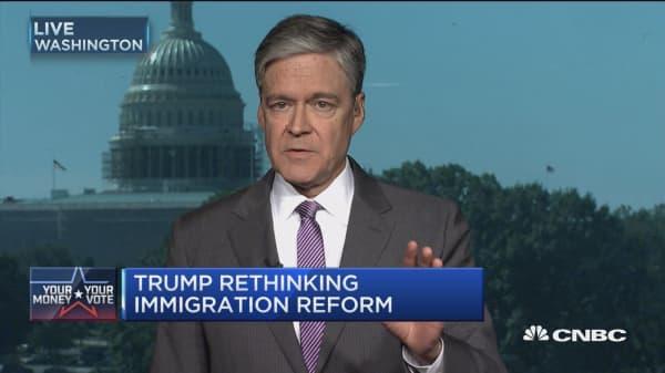 Trump on immigration: I'll do like Obama