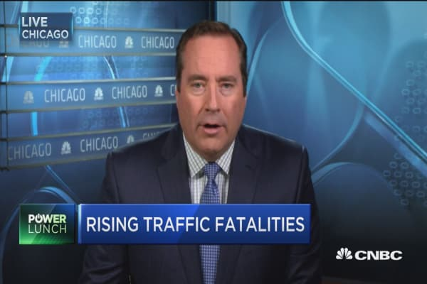 Rising traffic fatalities