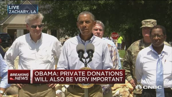 Obama: Congress may need to provide more aid