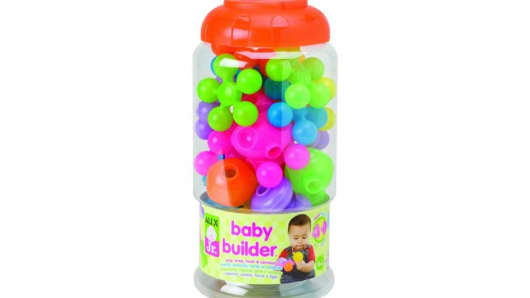 ALEX Jr. Baby Builder, First Pops and First Snaps has been recalled