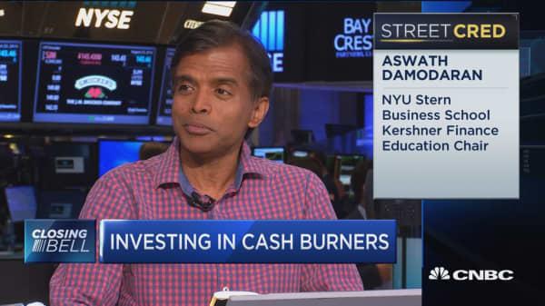Cash burn: Not always bad