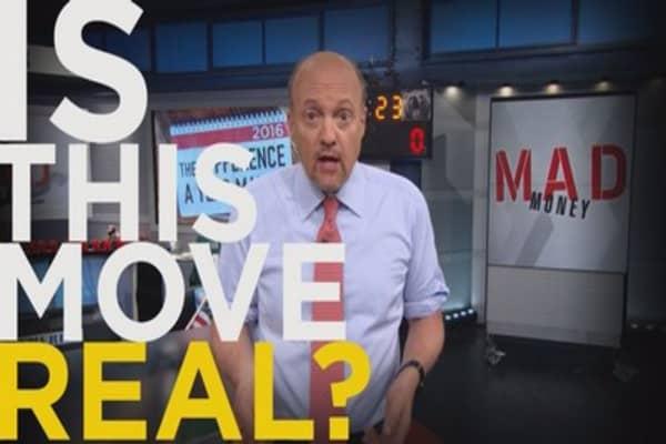 Cramer Remix: Make no mistake, this move is bullish