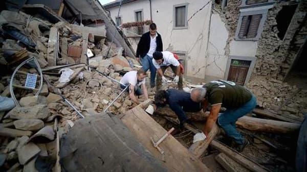 Italy suffers devastating quake