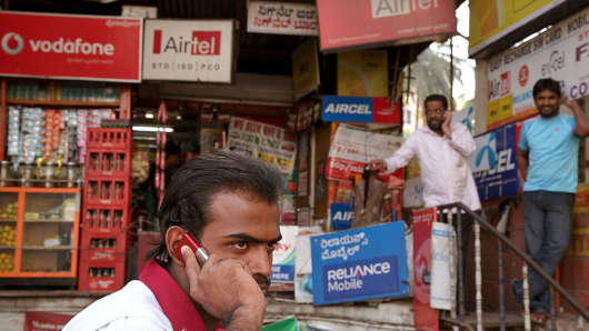 RELIANCE INDIA COMS