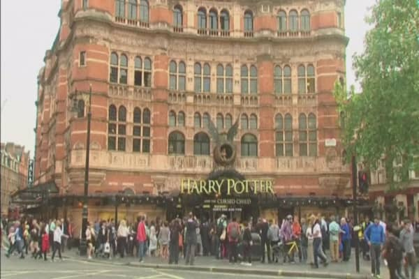 UK re-sellers profiting from Harry Potter play tickets