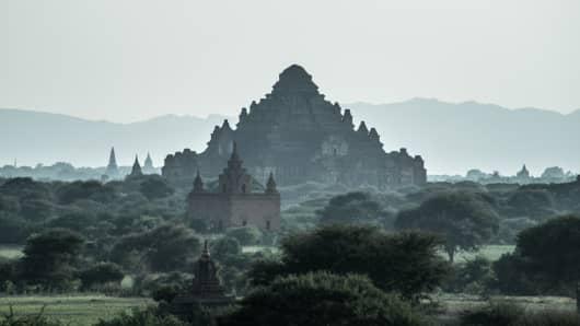 Dhammayangyi Temple of Bagan, Myanmar