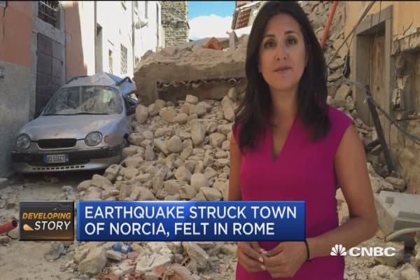 At least 73 people killed in Italy earthquake