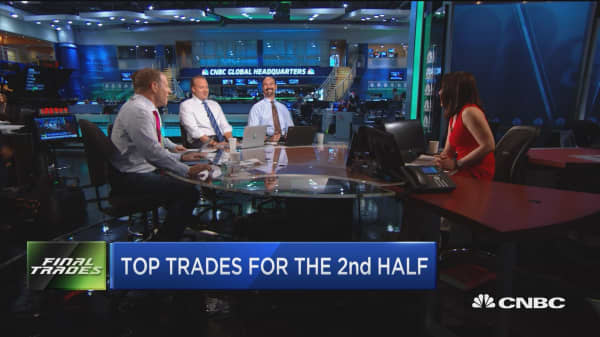 Top trades for the 2nd half: Lending Club, Amgen & more
