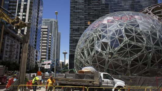 Amazon Sets Bold Plan For Second Headquarters