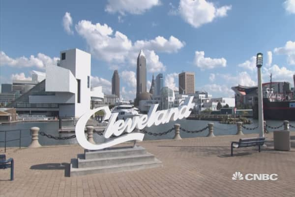 Inside Cleveland's hustle