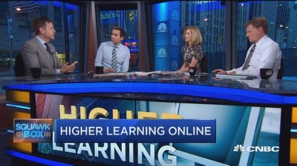 2U CEO: Attracting students to online education