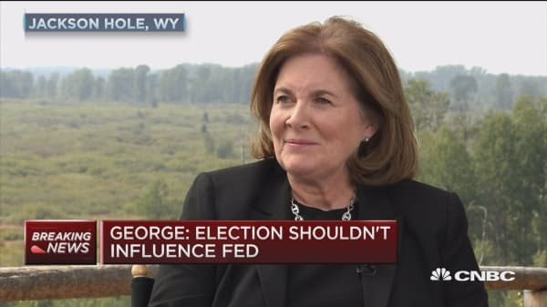 Esther George: Election shouldn't influence Fed