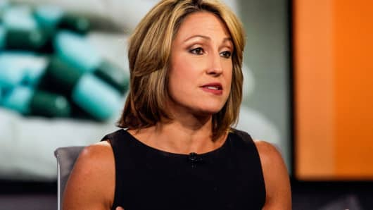 Heather Bresch, chief executive officer of Mylan