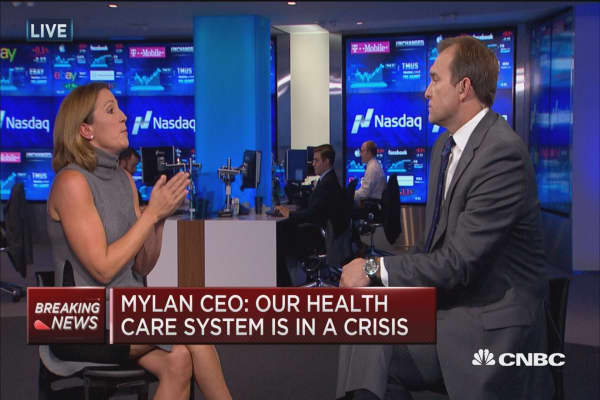 Mylan CEO: We fight every day for affordable medicine