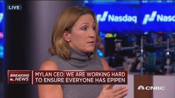 Mylan CEO: System incentivizes