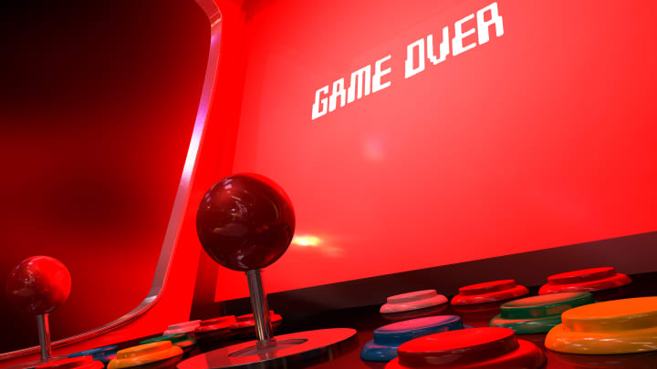 Game Over, video game, technology