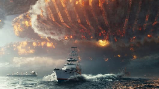 "A still from the movie ""Independence Day: Resurgence"""