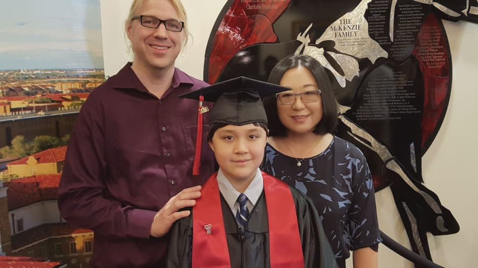 This 12-year-old kid could become Cornell's youngest graduate ever