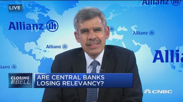 El-Erian: Fed has been only game in town for too long