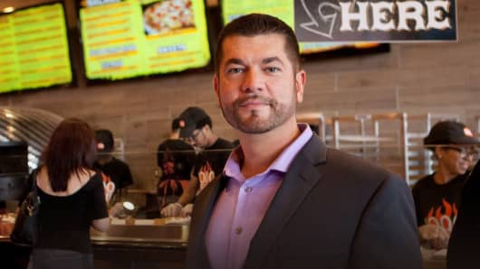 Brian Petruzzi, founder and CEO of 1000 Degrees Neopolitan Pizzeria