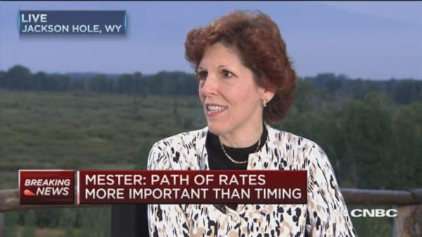 Fed's Mester: Expect strengthening in second half